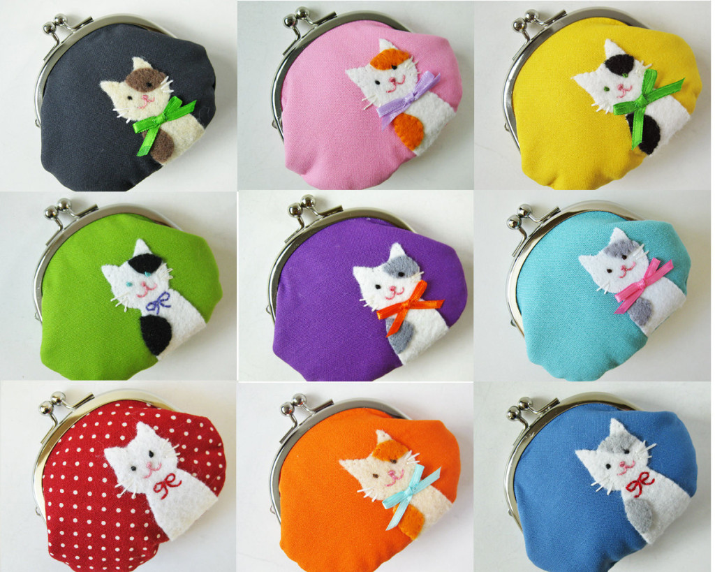 Custom Cat Coin Purse