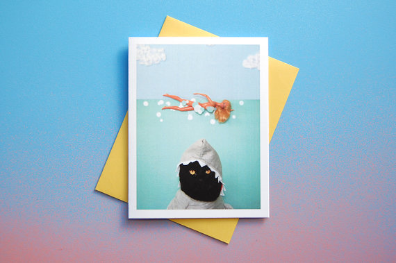 AC is Paws Greeting Card :: Kate Funk
