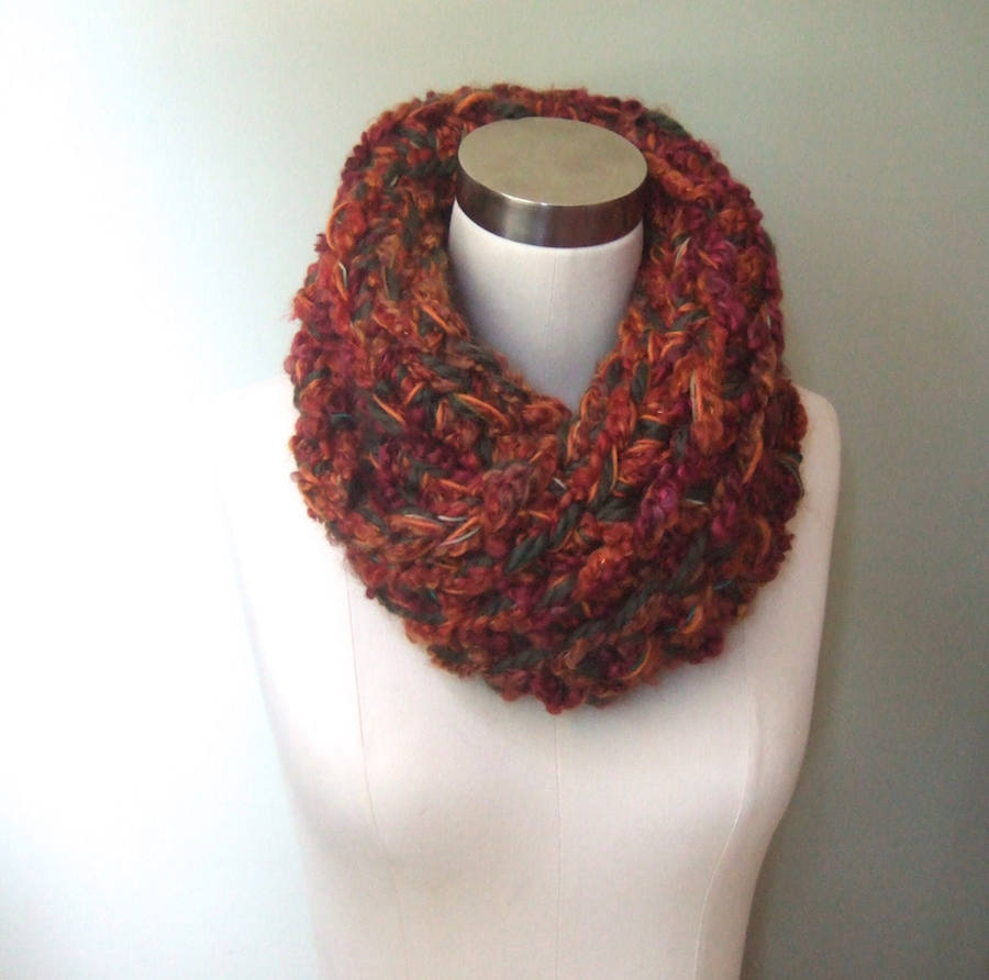 DottieQ - One of a Kind Handmade Crochet Cowl