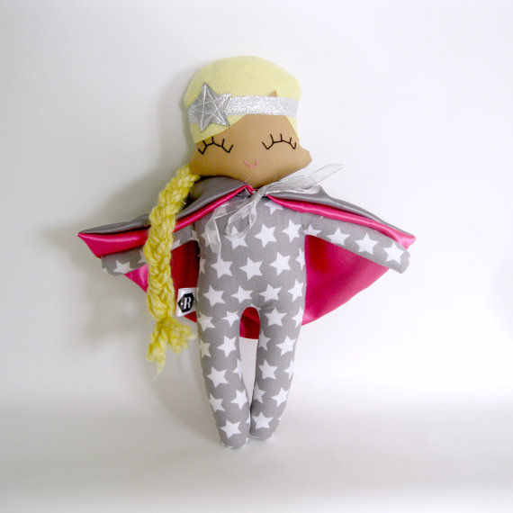 Riley Construction - Dolly Daredevil Rag Doll