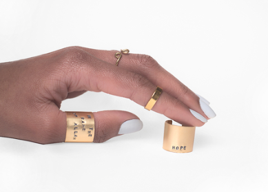 Lateef Accessories - PHRASE CUFF RING