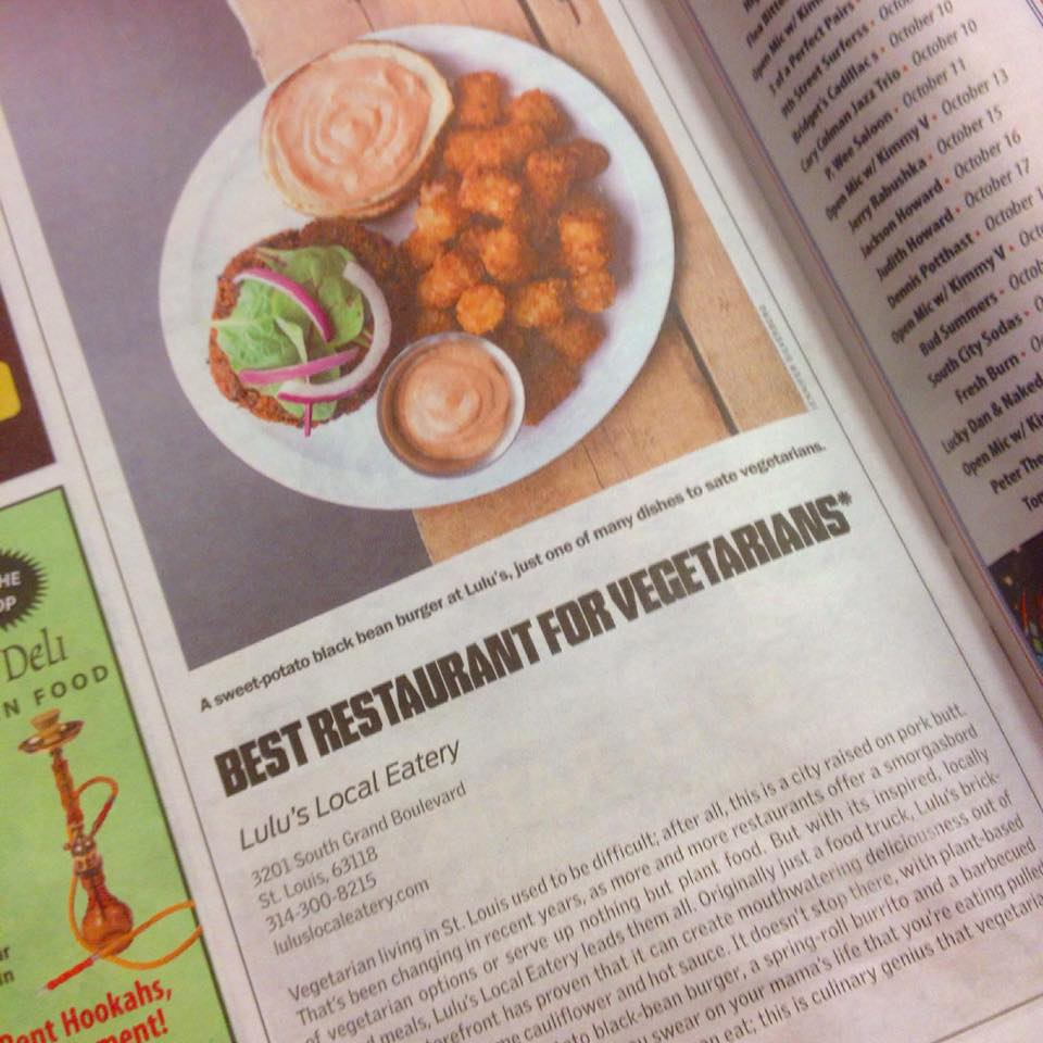 Lulu's Local Eatery - Best Restaurant for Vegetarians