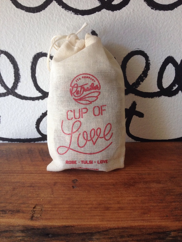 The ReTrailer - Cup of Love Sampler Satchel - Just like a hug from your grandma.