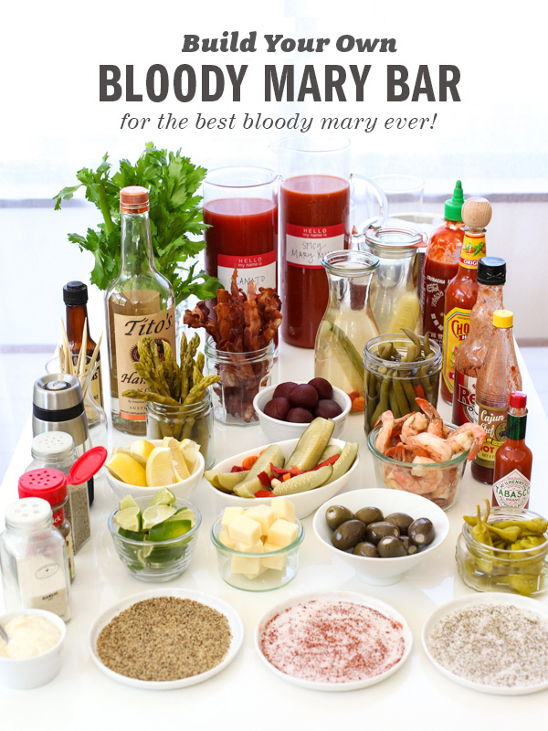 Best Bloody Mary Bar // Foodie Crush