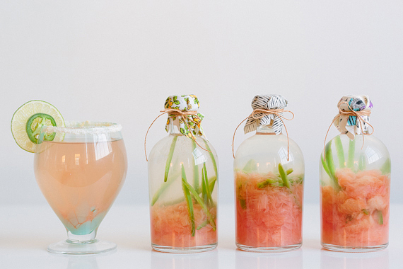 Grapefruit Jalapeno Infused Tequila Cocktail // 100 Layer Cake