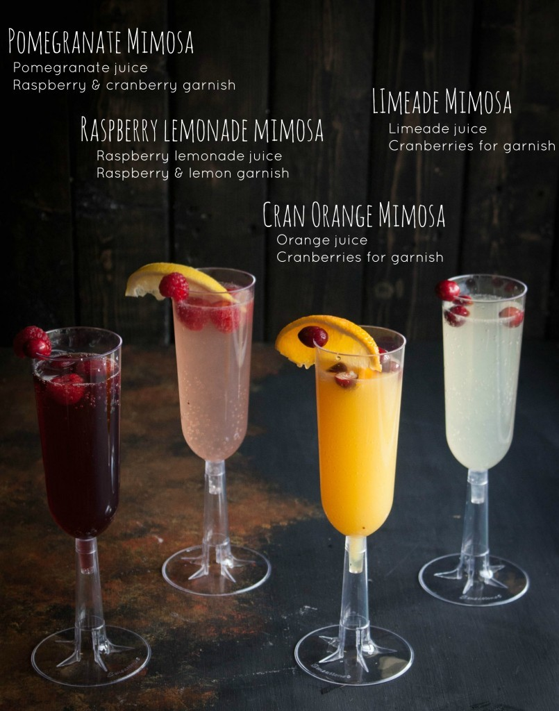 How to Make a Mimosa Bar // Sweet Phi
