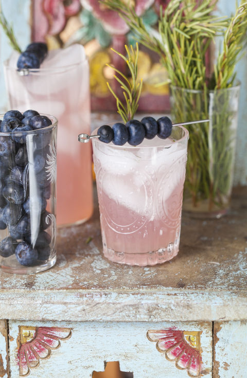 Rosemary Blueberry Smash // 'Against all Grain' by Danielle Walker