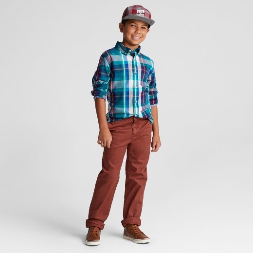 Cat & Jack™ Plaid Oxford / Target