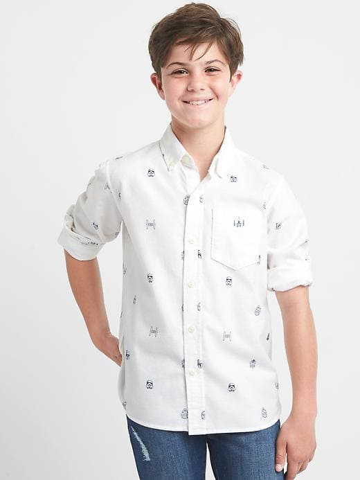 Star Wars™ Oxford Shirt // GapKids