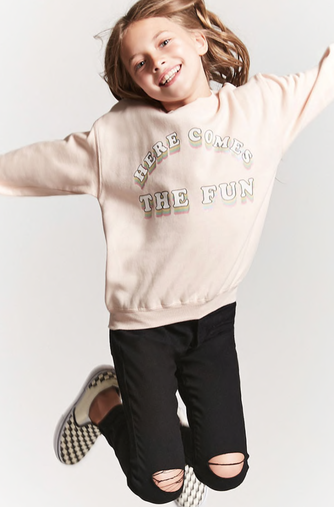 Here Comes the Fun Graphic Sweatshirt // Forever 21