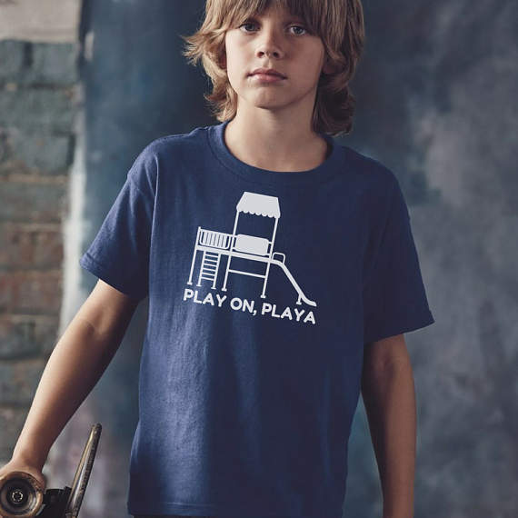 Play On Playa T-Shirt // Ellie + Nel