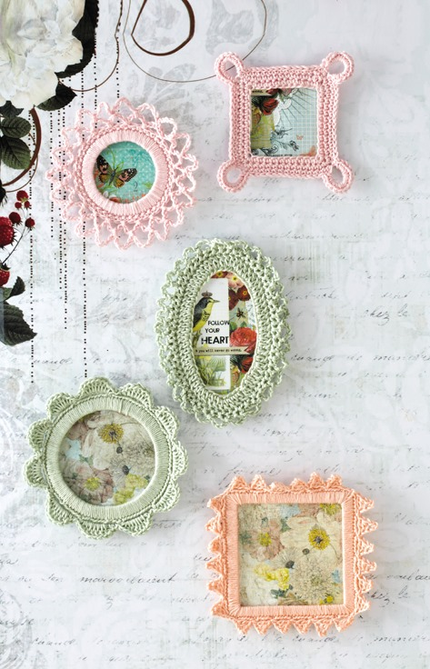 Crochet Frames // Fine Craft Guild